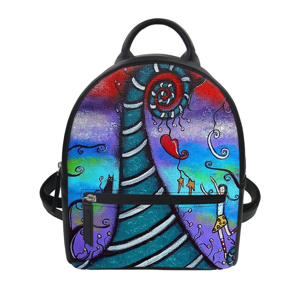 Custom Canvas Medium Bagpack With Your Design