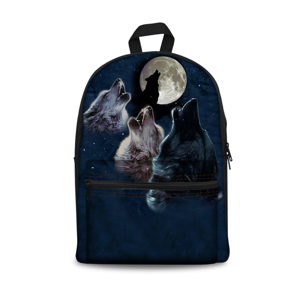 Custom Canvas Bagpack With Your Design