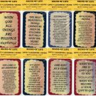 12 Different Inspirational Signs Sayings Plaques Christian Gifts Love Faith