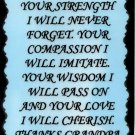 2029 Grandpa Your Strength Sayings Signs Plaques Grandfather Heartwarming Gifts