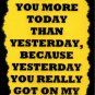 3162 I Love You More Today Than Yesterday Funny Comic Saying Signs Plaques Gifts