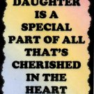 2024 A Daughter is Special Part Sayings Signs Plaques Family Heartwarming Gifts