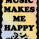 5110 Signs of Life Love Laughter Music makes me happy Inspirational Heartwarming