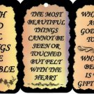 3 Inspirational Signs Sayings #4 Plaques Christian Gifts Love Religious Faith Blessings
