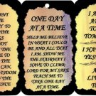 3 Inspirational Signs Sayings Plaques #2 Christian Gifts Love Religious Blessings Family Friends