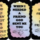 3 Friendship Signs Sayings Plaques #4 Gifts Inspirational Friends Love Blessings