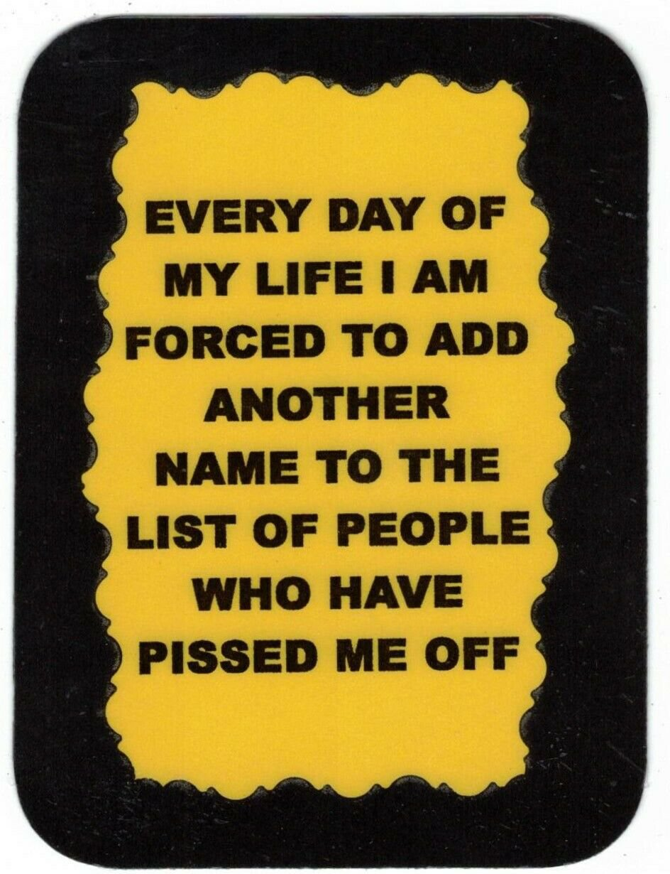 3268 Refrigerator Magnet Sign Funny Friendship Gift I Am Forced To Add Another