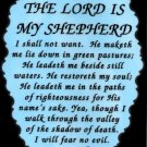 1028 Refrigerator Magnet Signs The Lord is my Shepherd Inspirational Christian
