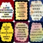 3122 Refrigerator Magnet Sign Funny Friendship Gift Woman Looking Husband Never