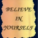1009 Refrigerator Magnet Signs Believe In Yourself Inspirational Gifts