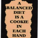 3317 Refrigerator Magnet Sign Funny Friendship Gift One Can Never Have Many Cats