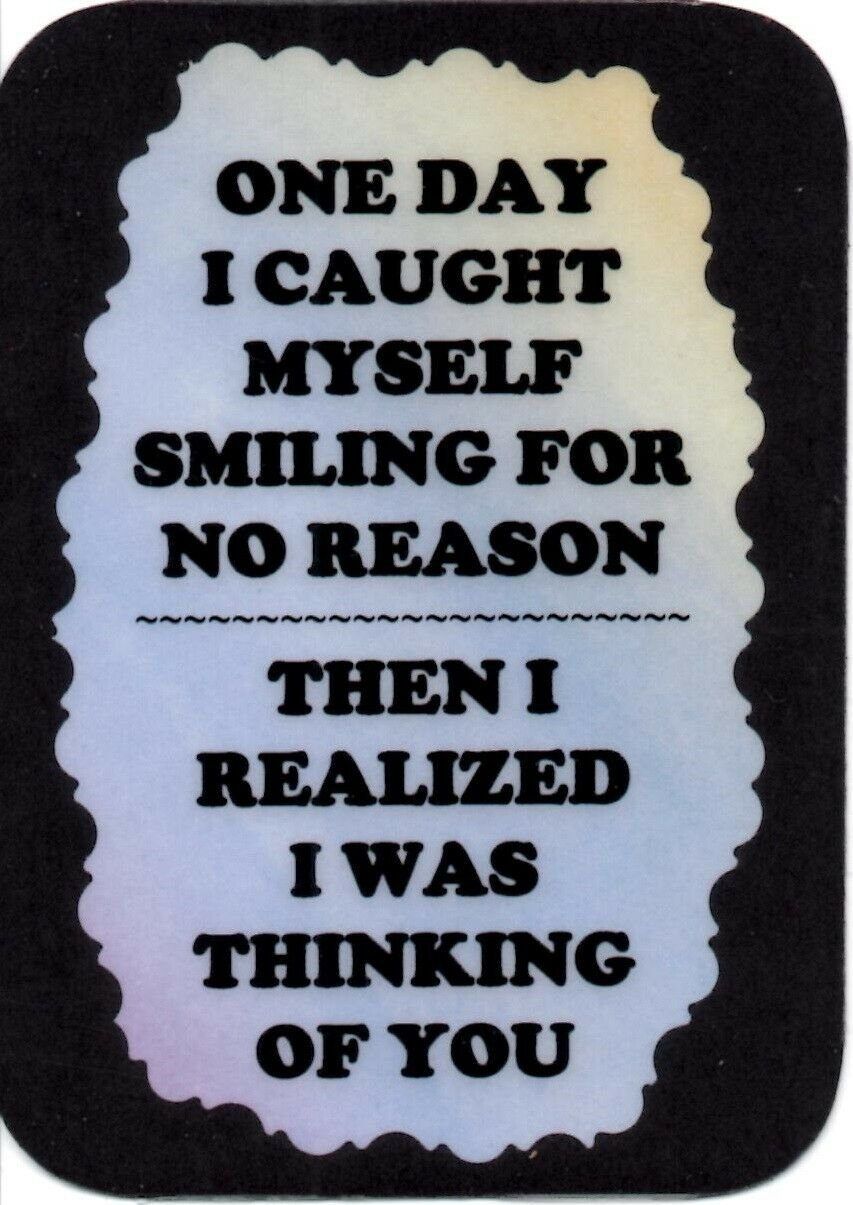 2154 Refrigerator Magnet Signs One Day I Caught Myself Friend Inspirational Gift