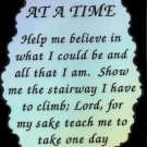 1030 One Day at a Time Inspirational 12 Step Gifts Refrigerator Magnet Fridge Decor