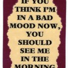 3200 If You Think I'm In Bad Mood Now Refrigerator Magnet Funny Friendship Gifts
