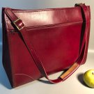 Like New Vintage Hartmann Tote Carry-On Bag w/Shoulder Strap Burgundy Leather