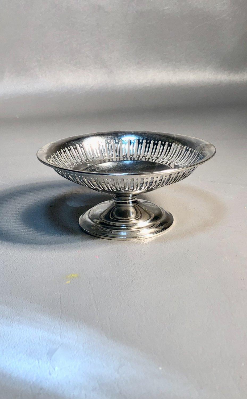 Fenestrated BonBon Compote Gorham Sterling Silver on Pedestal 79.7grams
