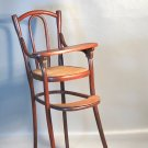 Original 1904 Thonet Doll High Chair 'Speissessel 2' Puppenmobel Bentwood w/Caned Seat