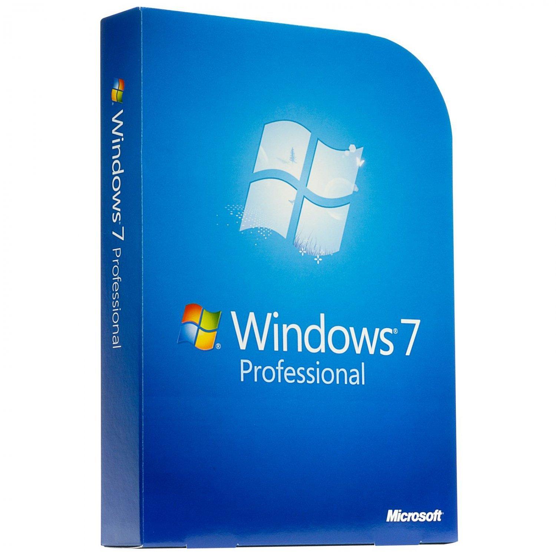 Microsoft Windows 7 Pro Professional 1PC License