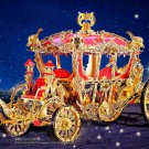 PIECECOOL 3D Metal Model Kit THE PRINCESS CARRIAGE Diy Assemble Puzzle Build Toy