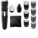 Philips Norelco Rechargeable Grooming Kit Beard Nose Ear Hair Trimmer Clipper