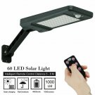 Path Dimmable Remote Control Yard Professional Road Light Solar Lamp 60LED Wall