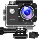 Victure AC400 Action Camera 1080P WiFi Sports Cam 30M Waterproof Underwater Camc