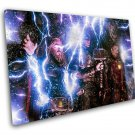 Avengers Endgame, Thor, Captain America, Iron Man, Tony Stark, 10x14 inches Stretched Canvas