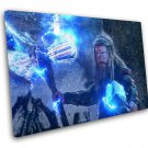 Avengers Endgame, Thor, Viking Thor, Chris Hemsworth, 12x16 inches Stretched Canvas