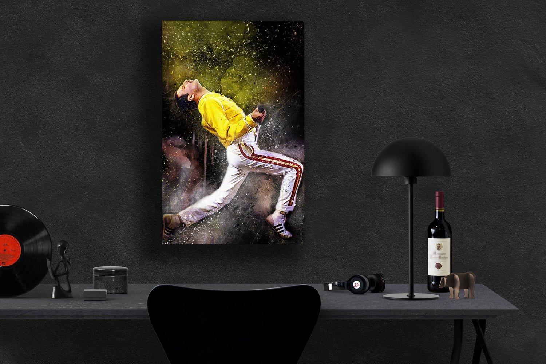 Freddie Mercury  8x12 inches Canvas Print