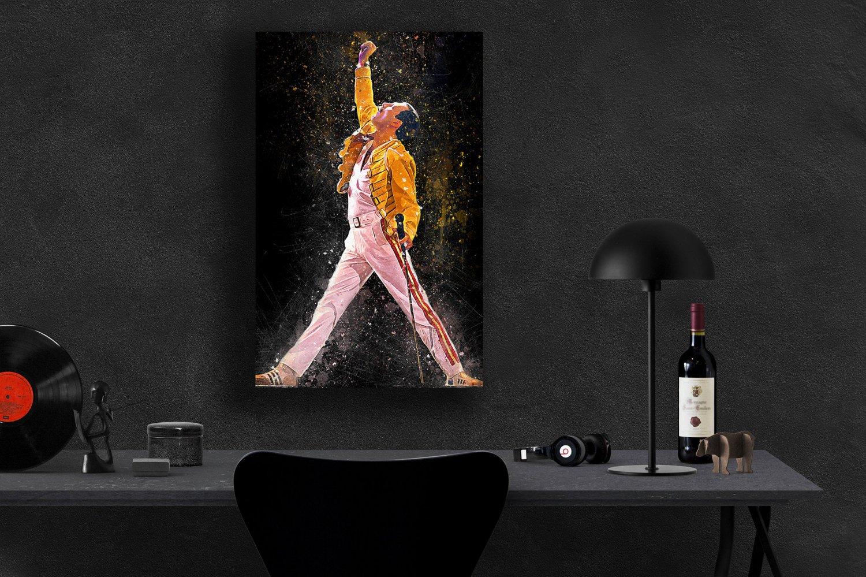 Freddie Mercury  24x35 inches Canvas Print