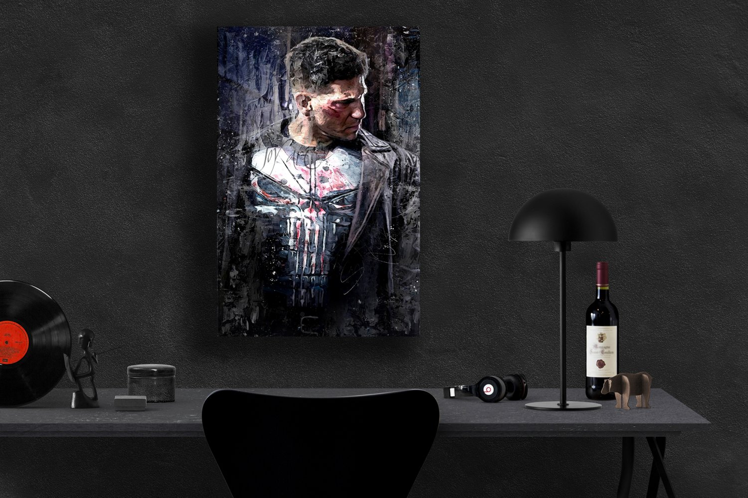 The Punisher, Frank Castle, Jon Bernthal  18x24 inches Poster Print
