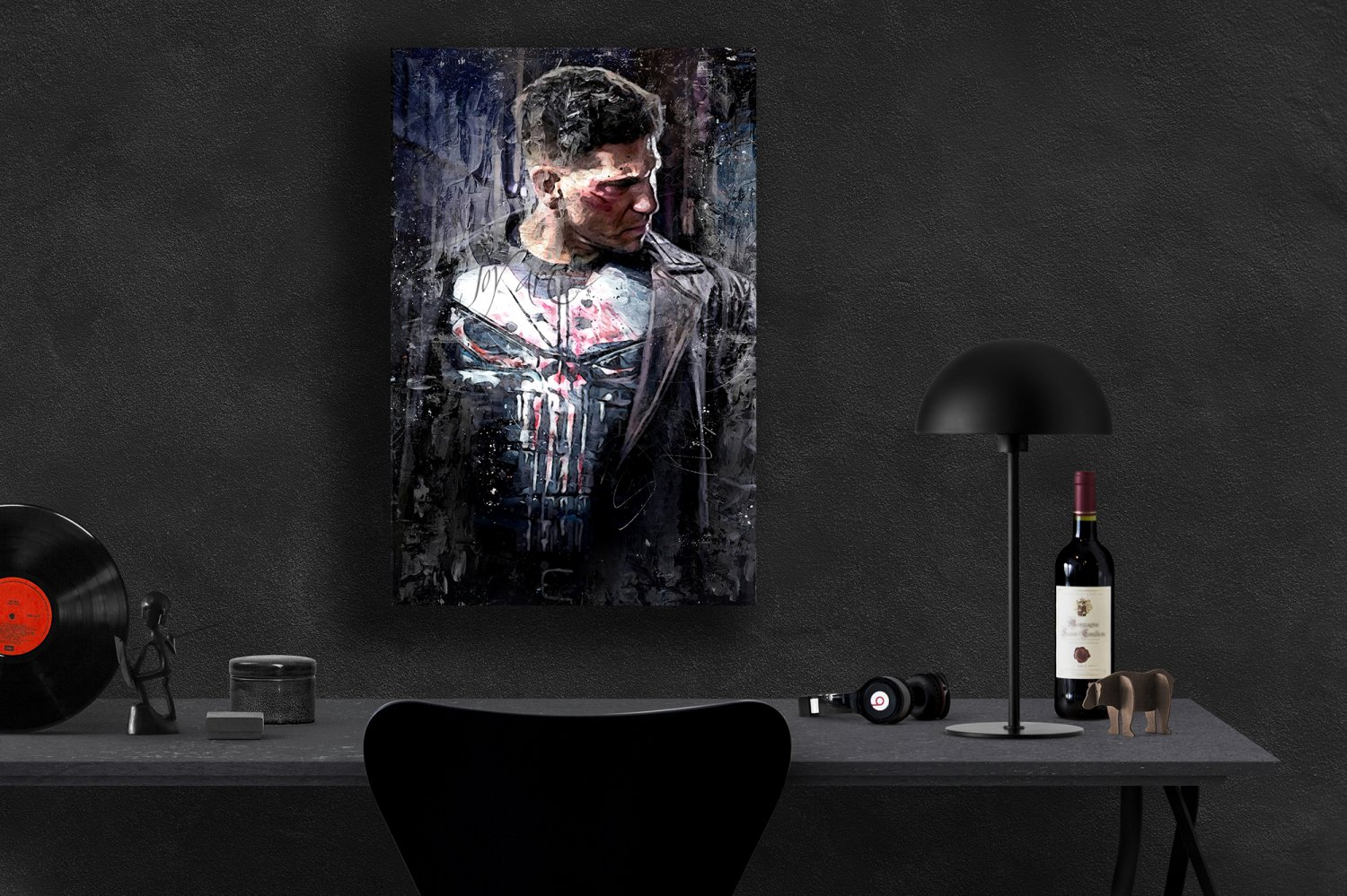 The Punisher, Frank Castle, Jon Bernthal  24x35 inches Canvas Print