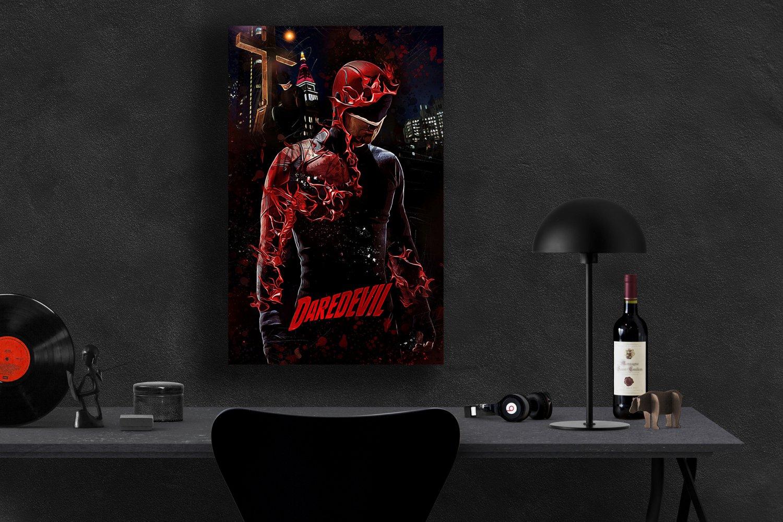 Daredevil, Charlie Cox, Matt Murdock  8x12 inches Canvas Print