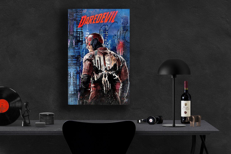 Daredevil, Charlie Cox, Matt Murdock  24x35 inches Canvas Print