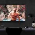 Lucifer, Lucifer Morningstar, Tom Ellis  8x12 inches Canvas Print