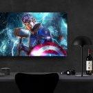 Captain America, Avengers Endgame, Chris Evans, Steve Rogers  18x28 inches Canvas Print