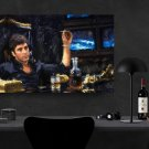 Scarface, Al Pacino, Tony Montana  8x12 inches Canvas Print