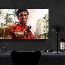 Scarface, Al Pacino, Tony Montana  24x35 inches Canvas Print