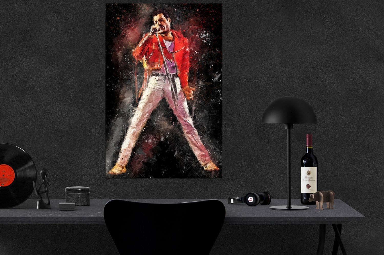 Freddie Mercury  8x12 inches Photo Paper