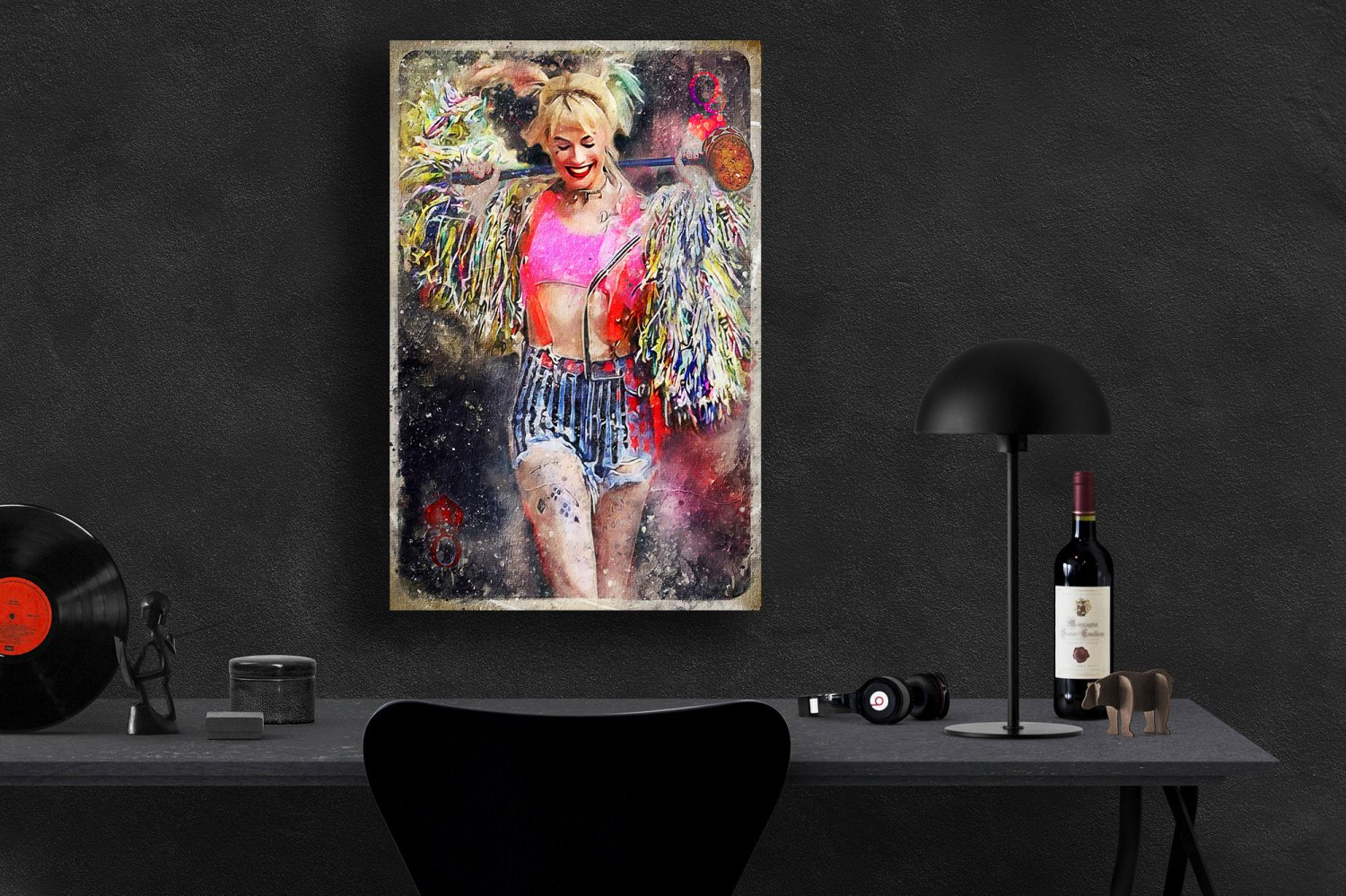 Harley Quinn, Margot Robbie, Birds of Prey  8x12 inches Photo Paper