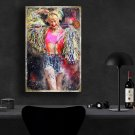 Harley Quinn, Margot Robbie, Birds of Prey   8x12 inches Canvas Print