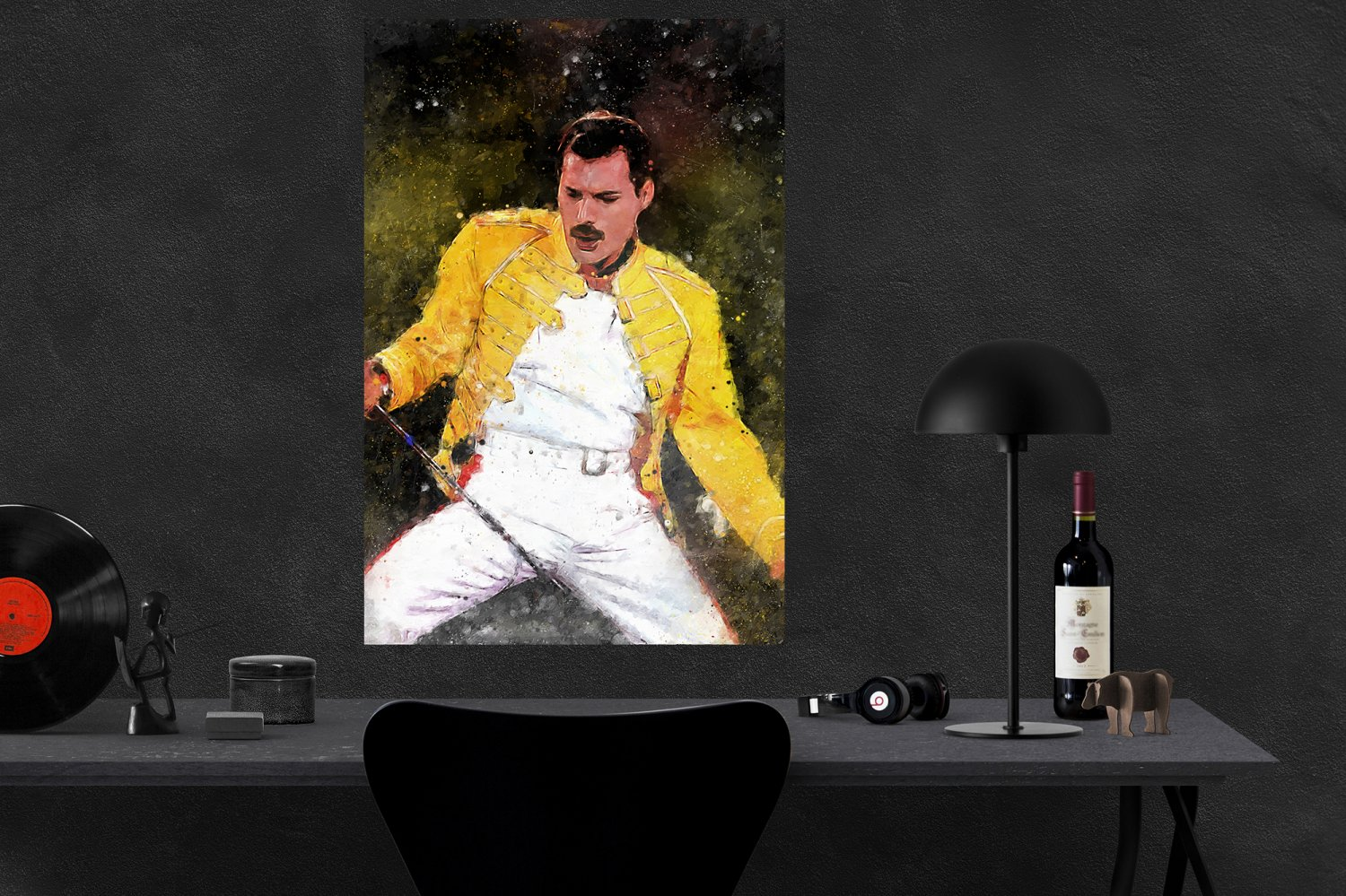Freddie Mercury  24x35 inches Canvas Print