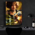 Leon The Professional 1994 Jean Reno, Gary Oldman, Natalie Portman  18x28 inches Poster Print
