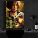 Leon The Professional 1994 Jean Reno, Gary Oldman, Natalie Portman   8x12 inches Canvas Print