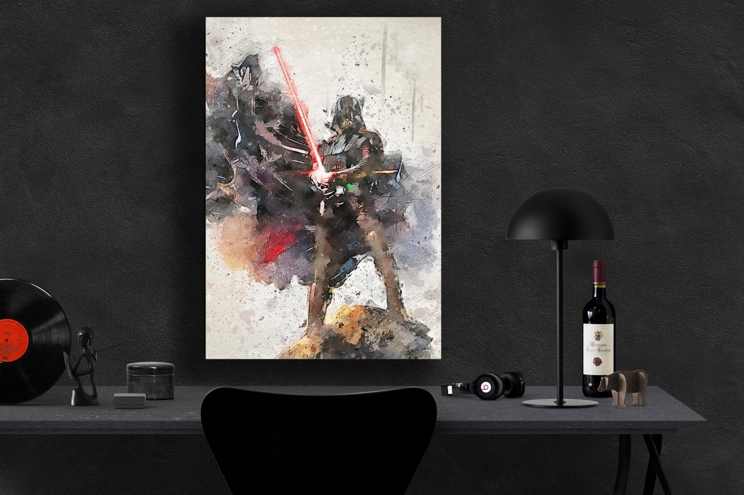 Darth Vader StarWars   8x12 inches Canvas Print