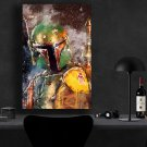 Boba Fett StarWars  18x28 inches Canvas Print