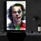 Joker Movie 2019 Joaquin Phoenix Arthur Fleck   8x12 inches Canvas Print