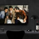 Goodfellas, Robert De Niro, Ray Liotta, Joe Pesci   18x28 inches Canvas Print