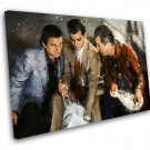 Goodfellas, Robert De Niro, Ray Liotta, Joe Pesci  12x16 inches Stretched Canvas