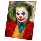 Joker Movie 2019 Joaquin Phoenix Arthur Fleck  12x16 inches Stretched Canvas